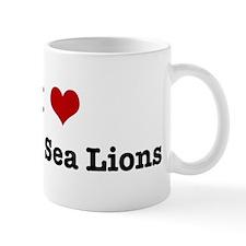 I love Steller Sea Lions Mug
