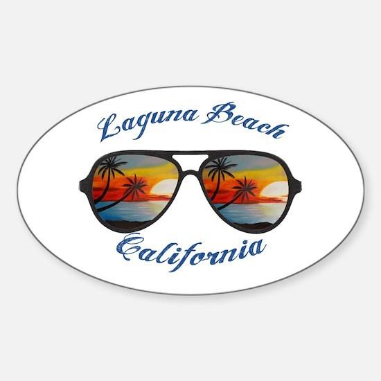 California - Laguna Beach Decal