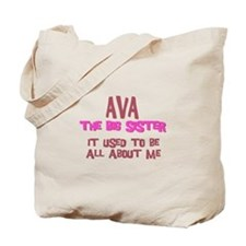 Ava - All About Big Sister Tote Bag