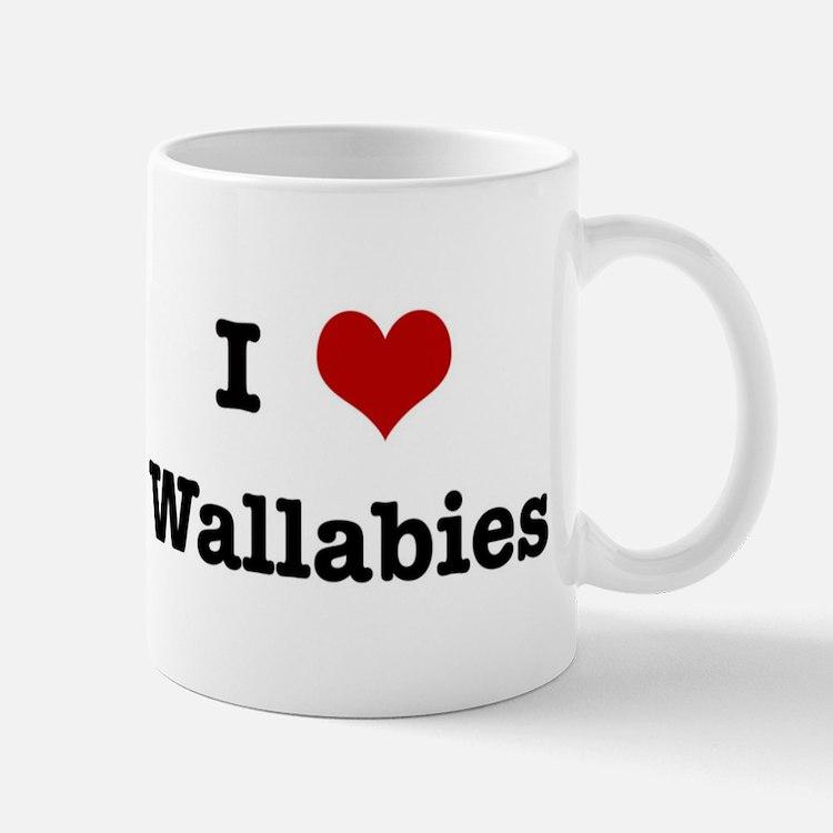 I love Wallabies Mug