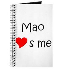 Funny Mao warhol Journal