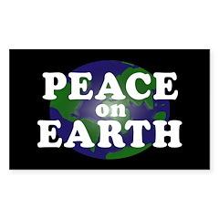 Peace on Earth (bumper sticker)