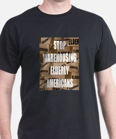 Stop Warehousing Elderly Amer T-Shirt