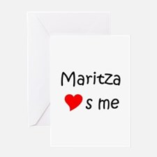 Funny Maritza Greeting Card