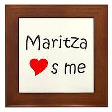 Maritza Framed Tile