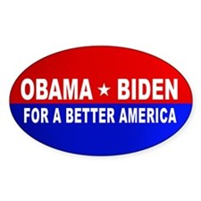 Better America Oval Decal