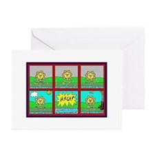 Art-SX Funnies Greeting Cards (Pk of 10)
