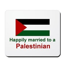 Happily Married To Palestinia Mousepad