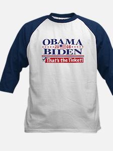Obama Biden 2008 Kids Baseball Jersey