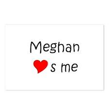Unique Meghan Postcards (Package of 8)