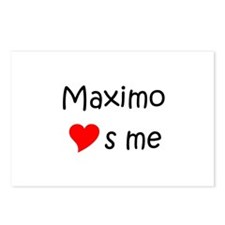 Unique Maximo Postcards (Package of 8)