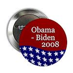 Obama - Biden 2008 campaign button