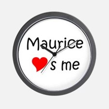 Funny Maurice Wall Clock