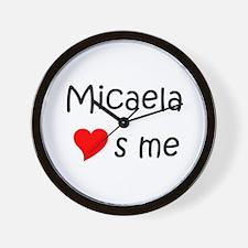 Unique Micaela Wall Clock