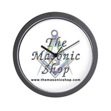 The Masonic Shop Logo Wall Clock
