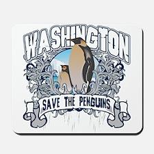 Save the Penguin Washington Mousepad