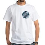 Masonic Steel Circle White T-Shirt