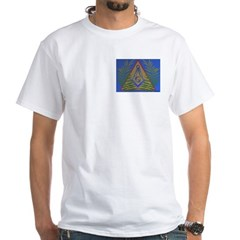 Masonic Acacia in Pyramind Square Shirt