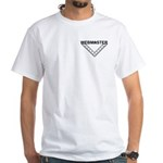 Masonic Webmaster Square White T-Shirt