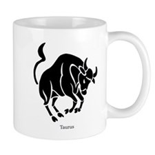 Taurus Zodiac Astrology Tattoo Mug