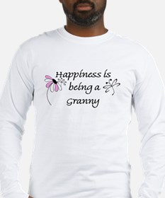Happiness Is Granny Long Sleeve T-Shirt