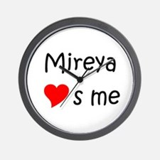 Unique Mireya Wall Clock