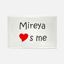 Cool Mireya Rectangle Magnet
