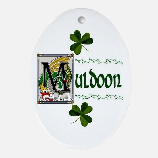 Muldoon Celtic Dragon Ornament