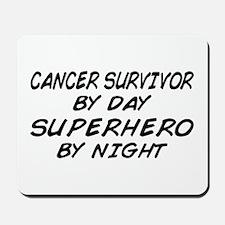 Cancer Survivor Superhero Mousepad
