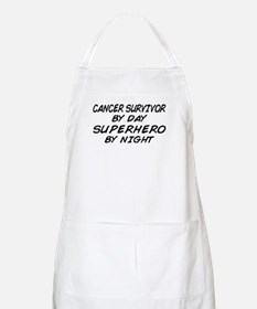 Cancer Survivor Superhero BBQ Apron