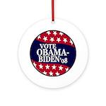 Vote Obama-Biden Christmas Ornament