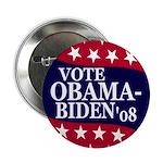 """Vote Obama-Biden '08 2.25"""" Button"""