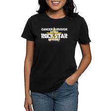 Cancer Survivor Rock Star by Night Tee