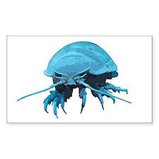 Giant Isopod Rectangle Decal