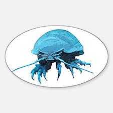 Giant Isopod Oval Decal