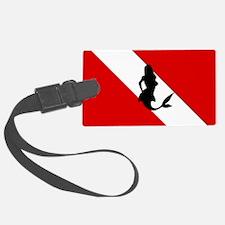 Diving Flag: Mermaid Luggage Tag