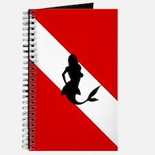 Diving Flag: Mermaid Journal