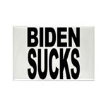 Biden Sucks Rectangle Magnet