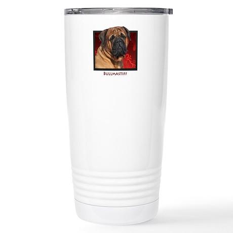 Bullmastiff Stainless Steel Travel Mug