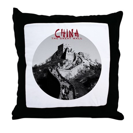 China: The Great Wall Throw Pillow