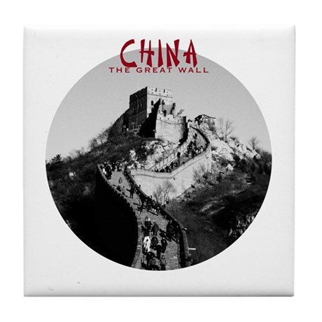 China: The Great Wall Tile Coaster