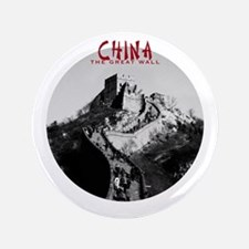 China: The Great Wall 3.5 inch Button