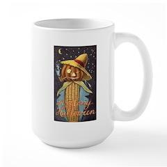 Halloween Scarecrow Large Mug