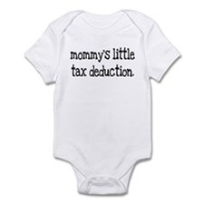 Mommy's Little Tax Deduction Infant Bodysuit