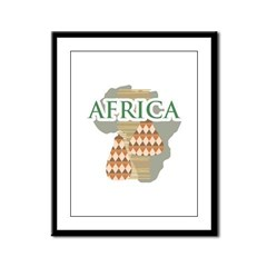 Africa Framed Panel Print