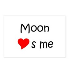 Moon names Postcards (Package of 8)