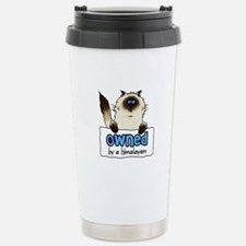 owned by a himalayan Travel Mug