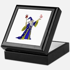 Wizard Robed Man Keepsake Box
