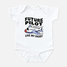 Future Pilot Like My Daddy Infant Bodysuit