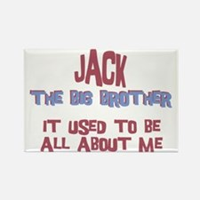 Jack - All About Big Brother Rectangle Magnet